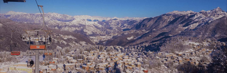 località sciistiche lombardia monte selvino copertina inverno